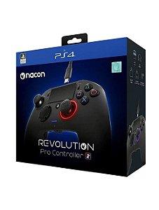Controle Com Fio PS4 Revolution Pro Controller 2 Camuflado Verde - Nacon