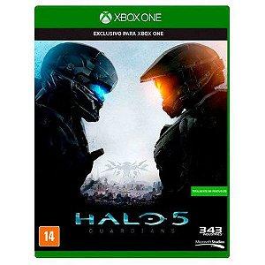 Usado Jogo Xbox One Halo 5 Guardians - Microsoft