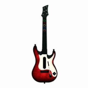 Usado Acessório PS3 Playstation 3 Guitarra Guitar Hero 5  Sem Fio Wireless - Redoctane