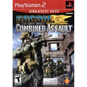 Usado Jogo PS2 SOCOM US Navy Seals Combined Assault - Sony