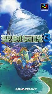 Usado Jogo Super Famicom Seiken Densetsu 3 Japonês SHVC-P-A3DJ(JPN) - Square Soft