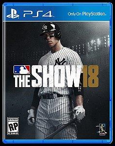 Usado Jogo PS4 MLB The Show 18 - Sony