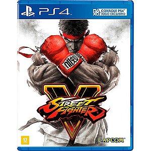 Jogo PS4 Street Fighter V - Capcom
