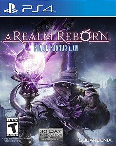Jogo PS4 Final Fantasy XIV 14 Online: A Realm Reborn - Square Enix