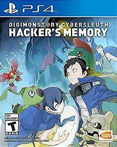 Usado Jogo Ps4 Digimon Story Cyber Sleuth Hacker's Memory - Bandai Namco