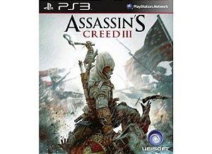 Usado Jogo PS3 Assassins Creed 3 - Ubisoft