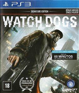 Usado Jogo PS3 Watch Dogs - Ubisoft