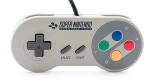 Usado Acessório Controle Super Nintendo com botões coloridos - Nintendo