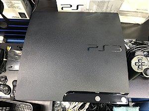 Usado Console PS3 Slim 120 GB na Caixa completo - Sony
