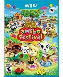 Usado Jogo Nintendo Wii U Animal Crossing: Amiibo Festival - NIntendo