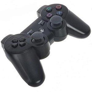 Controle PS3 Dualshock 3 Preto - Importado