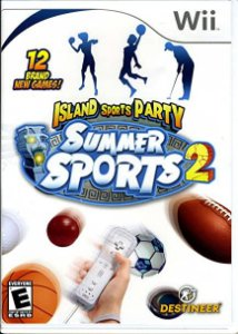 Usado Jogo Nintendo Wii Island Sports Party Summer Sports 2- Destineer