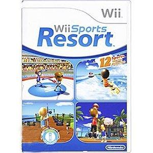 Usado Jogo Nintendo Wii Sports Resort - Nintendo