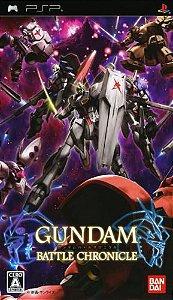Usado Jogo PSP Gundam Battle Chronicle (Japones) - Bandai