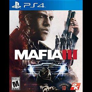 Usado Jogo PS4 Mafia III - 2K Games