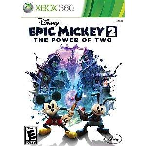 Usado Jogo Xbox 360 Disney Epic Mickey 2: The Power of Two - Disney