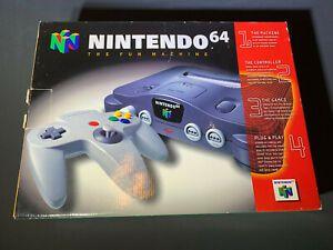 Usado Console Nintendo 64 Preto  c/ 1 Controle | Na Caixa - Nintendo