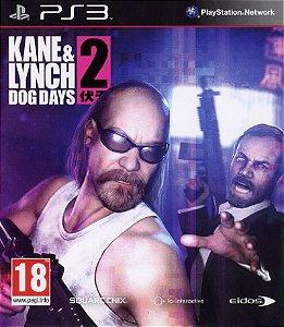 Jogo PS3 Kane & Lynch 2 Dog Days - Square Enix