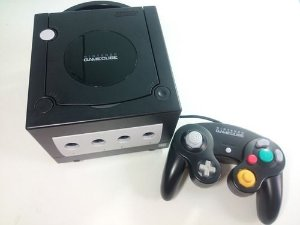 Usado Console Nintendo Game Cube Preto (DESTRAVADO) - Nintendo