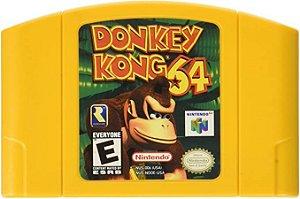 Usado Jogo Nintendo 64 Donkey Kong 64 | Somente o Jogo - Nintendo