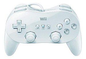 Usado  Controle Wii Classic Controller Pro Branco - Nintendo