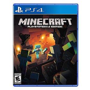 Usado Jogo PS4 Minecraft Playstation Edition - Mojang