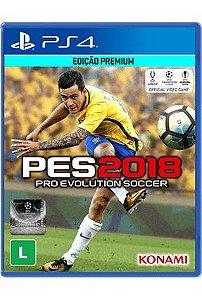 Usado Jogo PS4 PES 2018 Pro Evolution Soccer - Konami