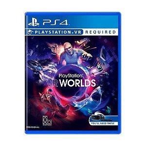 Usado Jogo PS4 Playstation VR Worlds - Sony