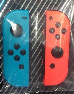 Controle Joy Con Nintendo Switch Par Azul/Vermelho - Nintendo