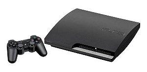 Usado Console Playstation 3 Slim PS3 120GB c/ 1 Controle - Sony