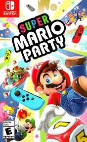 Usado Jogo Nintendo Switch Super Mario Party - NIntendo