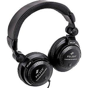 Fone de Ouvido Polsen HPC-A30 Fone Monitor de Audio Estudio - Polsen