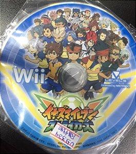 Usado Jogo Wii Inazuma Eleven Strikers Japones - Sem Caixa - Nintendo