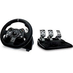 Volante Logitech G920 Driving Force para Xbox One e PC - Logitec