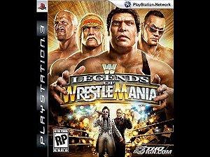 Usado Jogo PS3 WWE Legends Of Wrestle Mania
