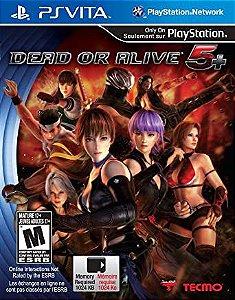 Usado Jogo PS Vita Dead Or Alive 5+ - Tecmo