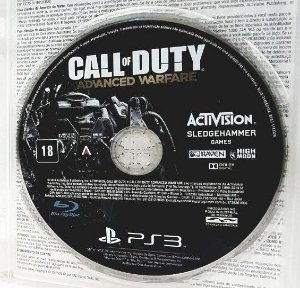 Usado Jogo PS3 Call of Duty Advanced Warfare s/ caixa - Activision