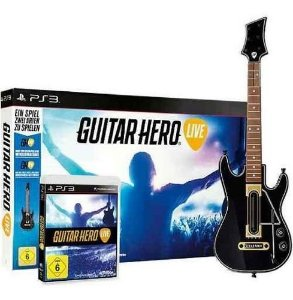 Usado Kit PS3 Guitar Hero Live Guitarra + Jogo - Activision