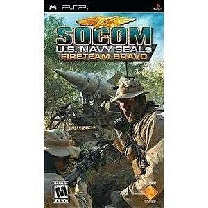 Usado Jogo PSP Socom US Navy Seals Fireteam Bravo - Sony