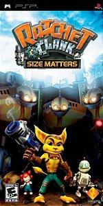 Usado Jogo PSP Ratchet Clank Size Masters - Sony