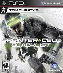 Usado Jogo PS3 Tom Clancy's Splinter Cell Blacklist - Ubisoft