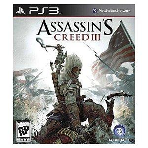 Jogo PS3 Assassin's Creed III - Ubisoft