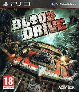 Jogos Usados PS3 Blood Drive - Activision