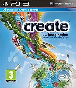 Usado Jogo PS3 Create Compatible PS Move - Sony