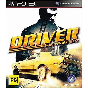 Usado Jogo PS3 Driver San Francisco - Ubisoft