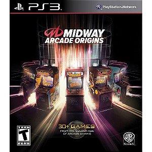 Usado Jogo PS3 Midway Arcade Origins - WB Games