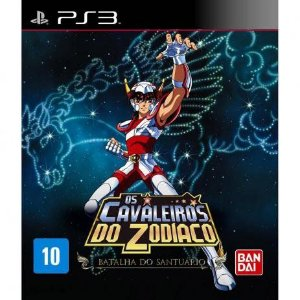 Usado Jogo PS3 Os Cavaleiros do Zodíaco: A Batalha do Santuário - Bandai