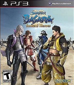 Usado Jogo PS3 Sengoku Basara Samurai Heroes - Capcom