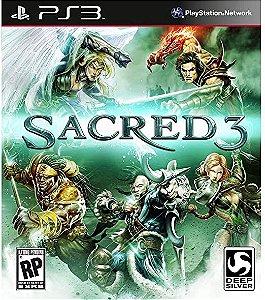 Usado Jogo PS3 Sacred 3 - Deep Silver