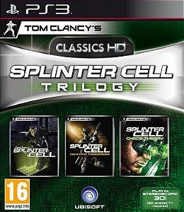 Jogo PS3 Tom Clancy's Splinter Cell Trilogy - Ubisoft
